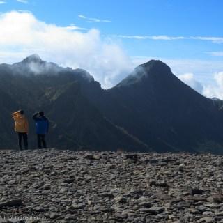 170924硫黄岳山頂から赤岳