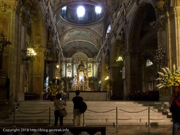 171112 サンティアゴ大聖堂の祭壇