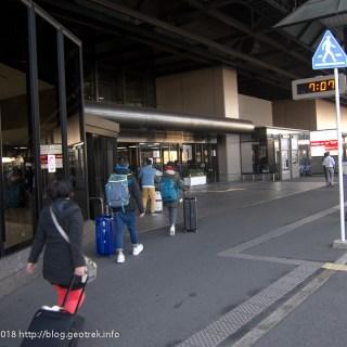 171129 ホテルから成田空港へ