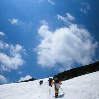 180505 燧岳の頂上はすぐそこ