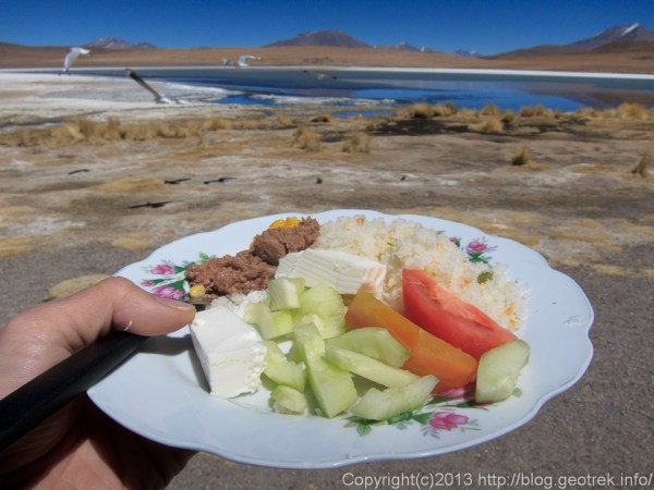130904アタカマ砂漠、昼食