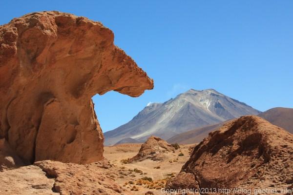 130904アタカマ砂漠、オジャゲ火山