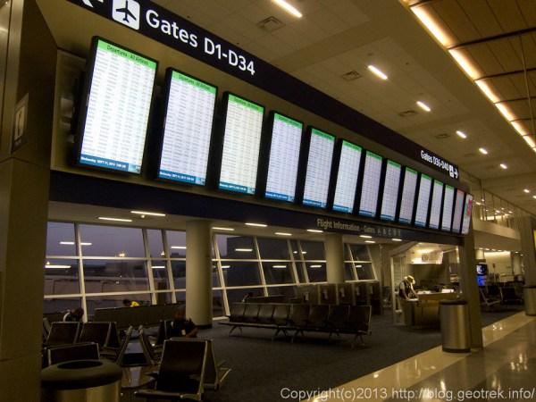 130911DFW空港ターミナル