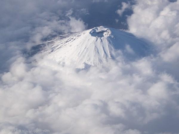 170224富士山上空通過