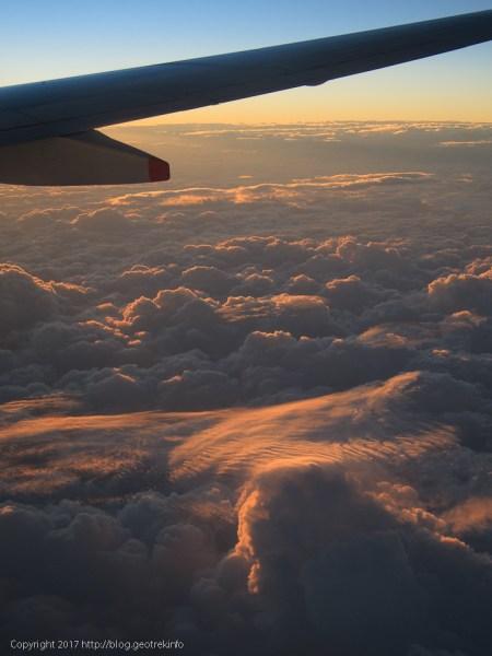 170224台湾上空。