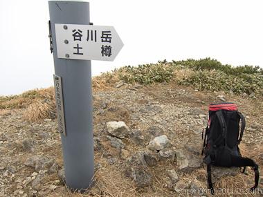 111104谷川岳・万太郎山山頂