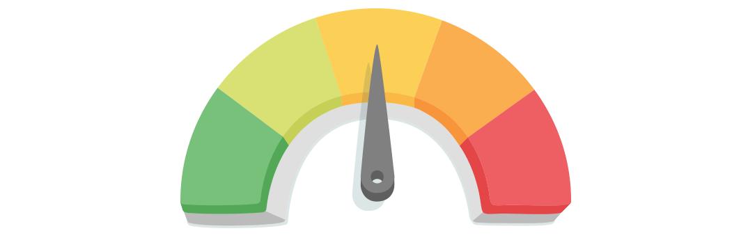 Medidor de pontuação de crédito