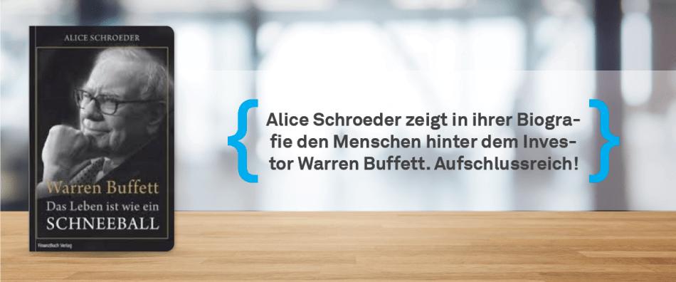 Warren Buffet: Das Leben ist wie ein Schneeball