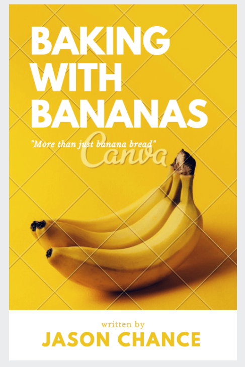 Banana Cookbook Cover