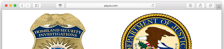 Critical Update: Payza com seized by DOJ, ending support immediately