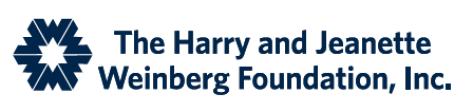 Harry Jeanette Weinberg Fdn