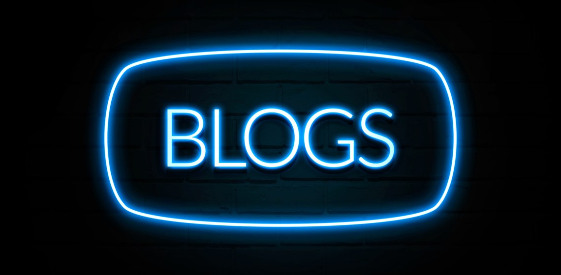 Blogs Neon Sign