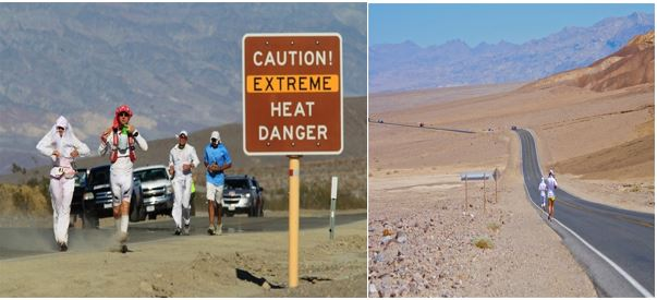 toughest running events - Running in extreme heat
