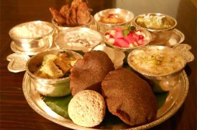 Navratri Food platter