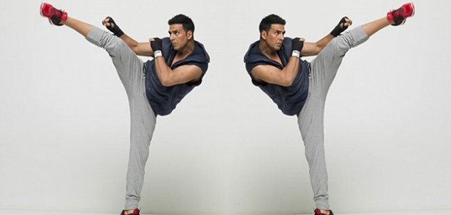 akshay kumar workout