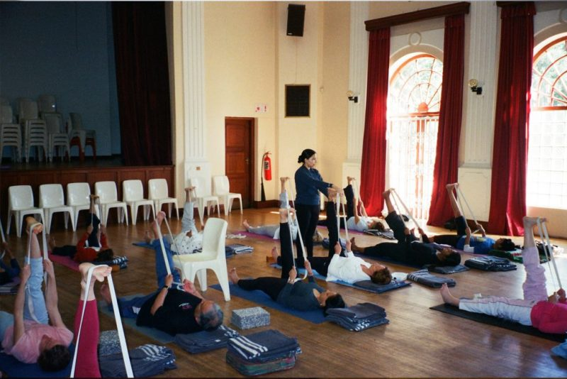 Yoga Classes in Delhi; Iyengar Yoga Center Yogakshema