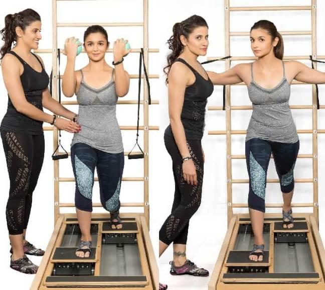 alia bhatt weight loss exercises