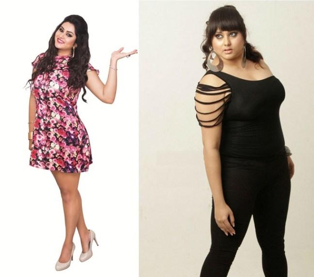 namitha weight loss