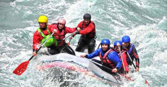 water rafting in goa
