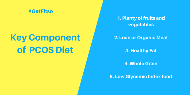 Key component of PCOS Diet Plan for weight loss