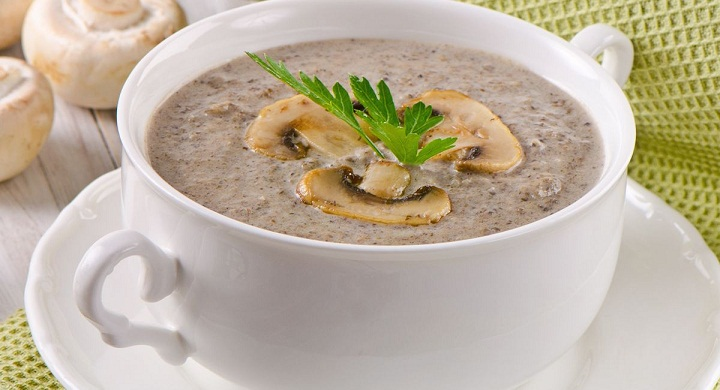 mushroom soup for weight loss