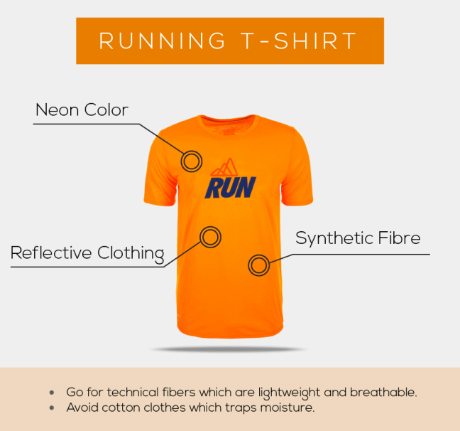 Running Guide for beginners in India- tshirt