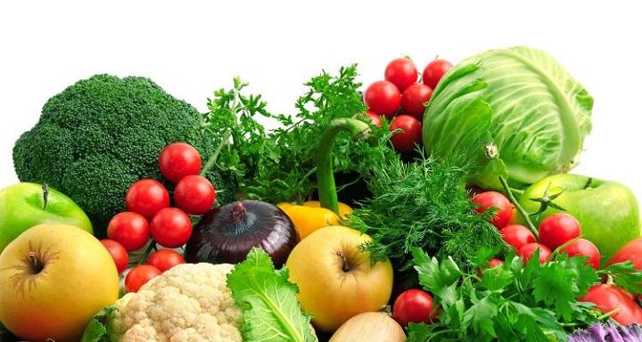 fibre fruits & vegetables