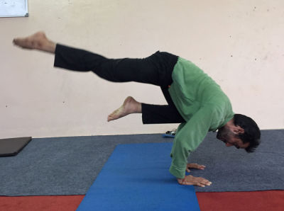 gajender: yoga trainers in delhi