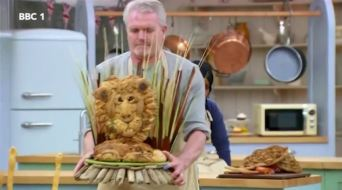 You haven't seen TV until you've seen a grown man proudly presenting a Bread Lion.