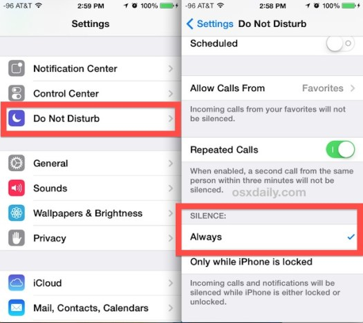 """Use """"Do Not Disturb"""" while playing the game to avoid disturbance"""