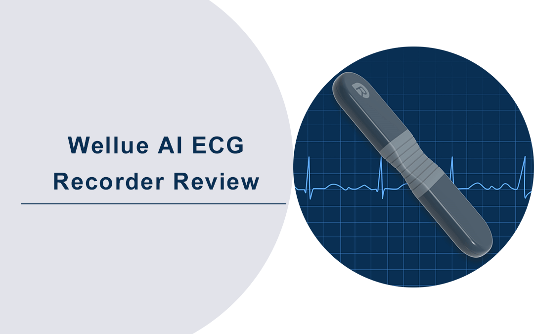 Wellue ECG Recorder with AI Analysis Review