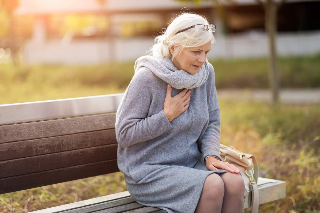 chest pain in winter