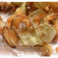 Fiori di zucca fritti senza glutine
