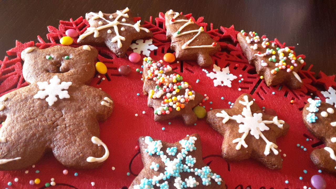 Biscotti di Pan di zenzero, Gingerbread