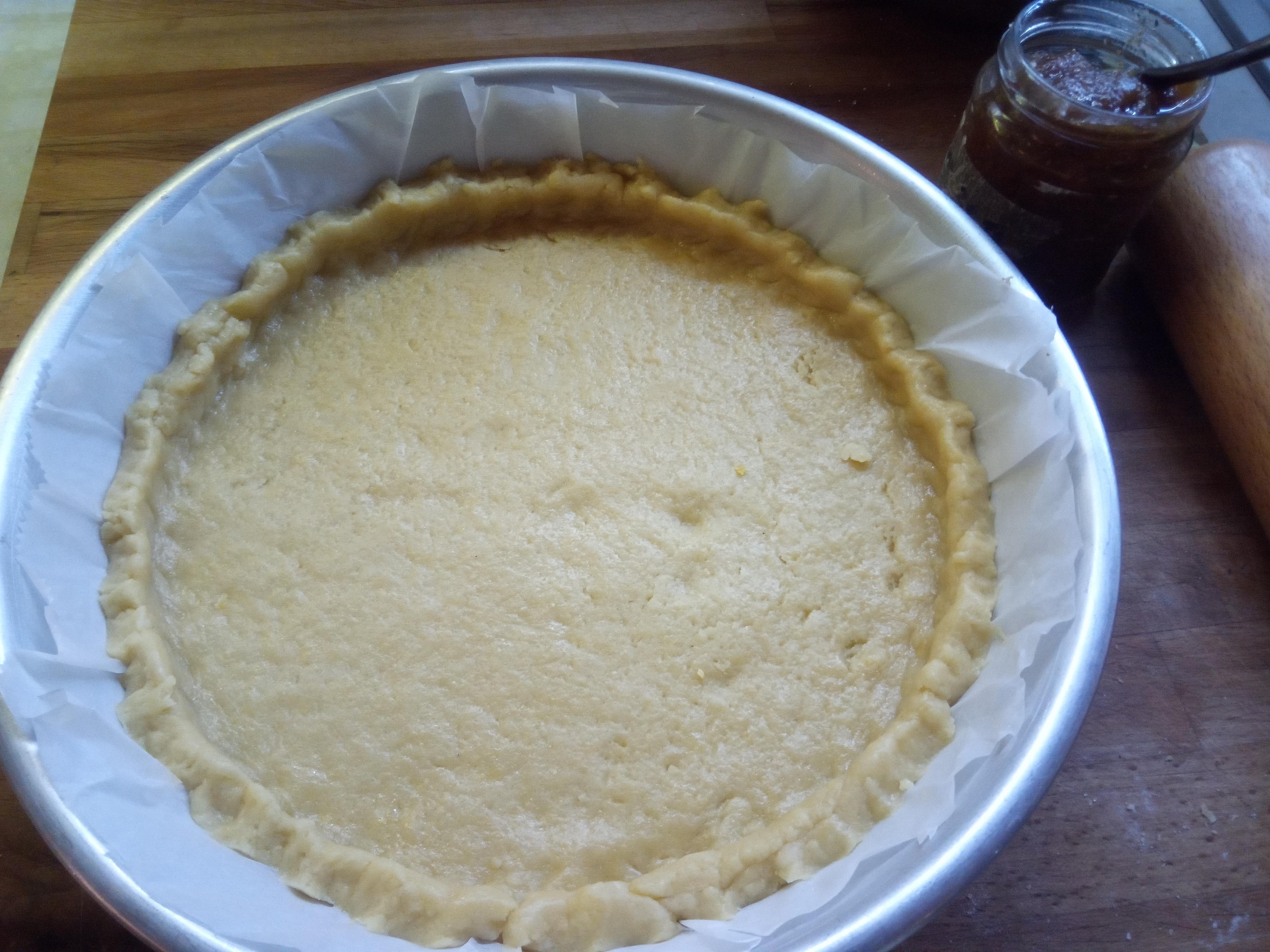 Pasta frolla lievitata veloce per crostate