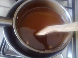 Salame di cioccolato, al latte