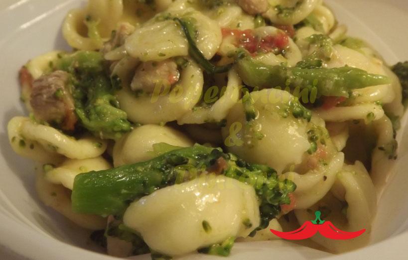 orecchiette broccoletti e pesce spada