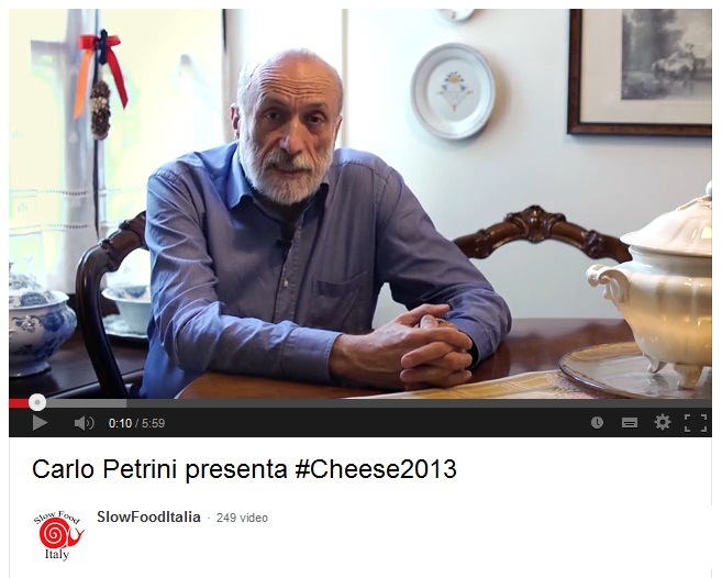 Carlo Petrini presenta la nona edizione di Cheese