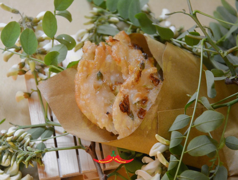Frittelle di fiori di Acacia al Recioto di Gambellara