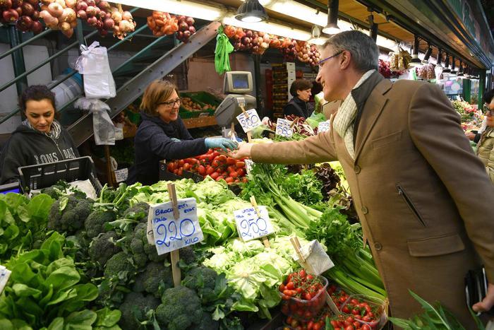 Coldiretti, torna dieta mediterranea,+7% pesce e 4,3% frutta