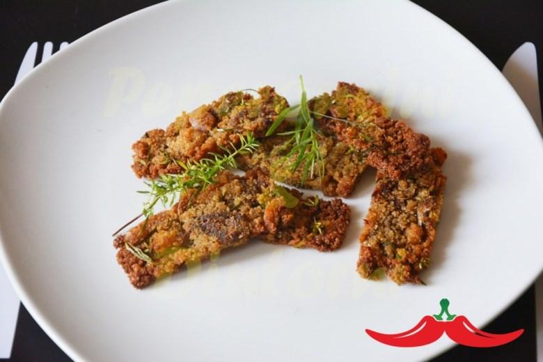 Biscotti Salati di Pane Raffermo Acciughe e Dragoncello
