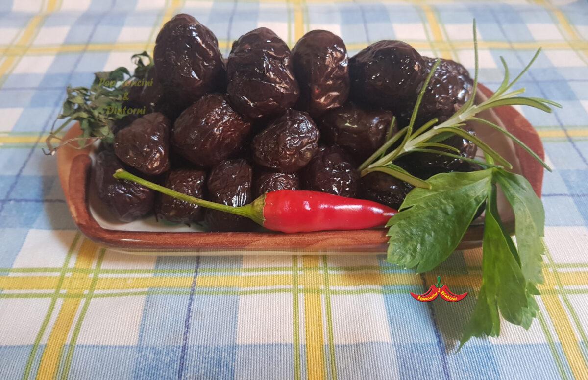 Passuluna, olive nere Siciliane