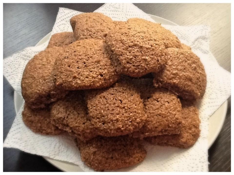 Biscotti ricotta cocco e nutella