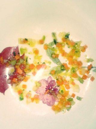 Trito cipolla, carote e sedano