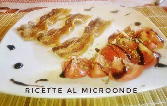 Pancetta croccante al microonde