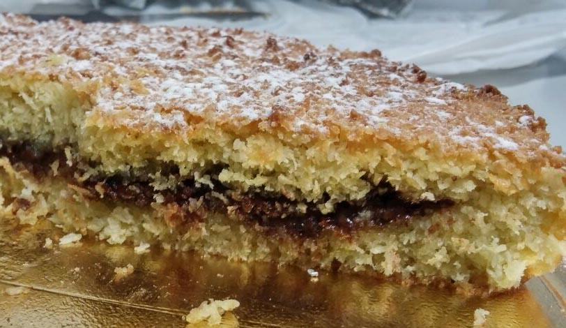 Torta al cocco con nutellaOriginally Posted on 7 March 2015 and reposted on 29 November 2020