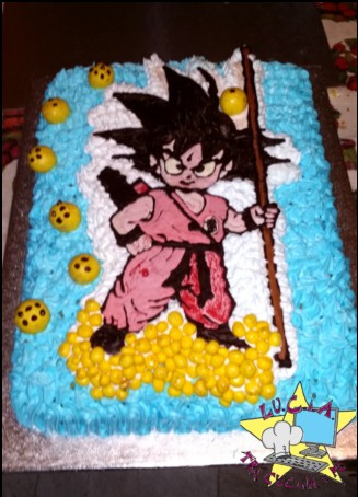 Torta GOKU – Dragon ball