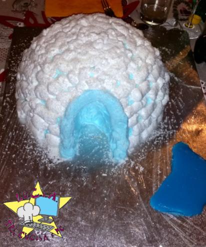Torta igloo – torta a tema