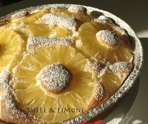 Torta all'Ananas – ricetta facile e veloce
