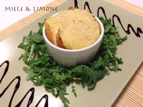 Sformatini di patate speck e scamorza – ricetta facile e gustosa